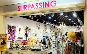 Surpassing Accessories store at Liang Court mall in Singapore.