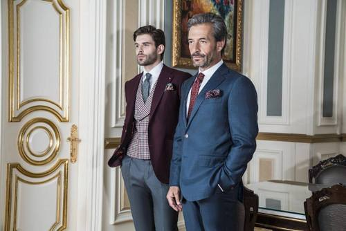The Bespoke Club's tailored men's clothing, available in Singapore.