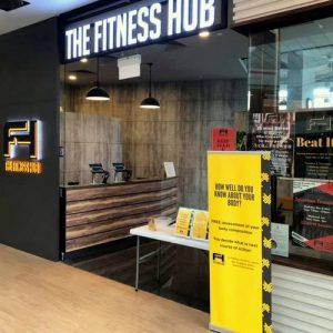 The Fitness Hub at Aperia Mall in Singapore.