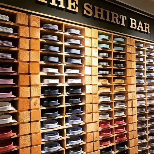 The Shirt Bar, Singapore.