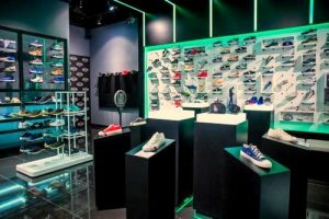The Social Foot shoe store in Singapore.