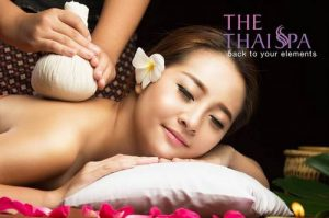 The Thai Spa's massage, available in Singapore.