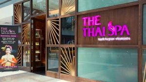 The Thai Spa at Suntec City mall in Singapore.