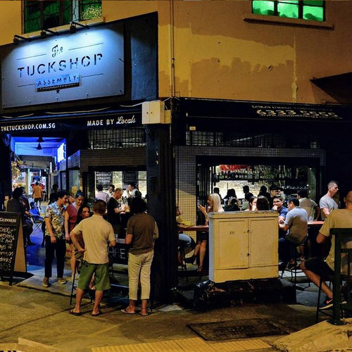 The Tuckshop Cafe & Bar in Singapore.