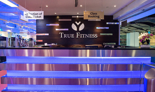 True Fitness at HarbourFront Centre in Singapore.