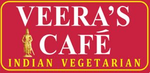 Veera's Cafe Indian Vegetarian restaurant in Singapore.