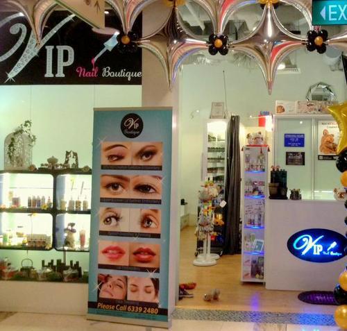 VIP Boutique nail salon in Singapore.