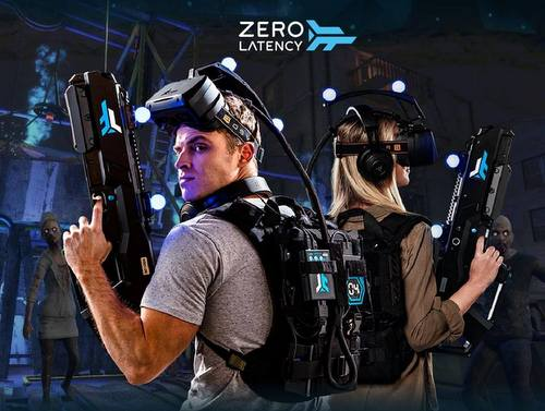 Zero Latency VR gaming arena in Singapore.