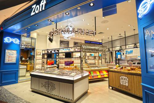 Zoff optical store in Singapore.