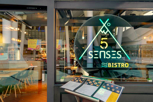 5 Senses restaurant in Singapore.