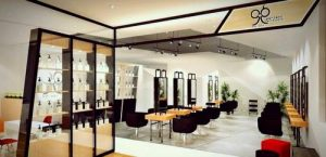 99 Percent Hair Studio at Bedok Point shopping centre in Singapore.