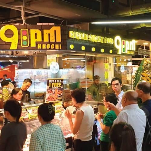9PM Kkochi Korean restaurant at Causeway Point mall in Singapore.