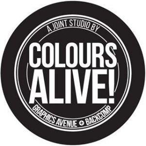 Colours Alive! print studio at Bras Basah Complex in Singapore.