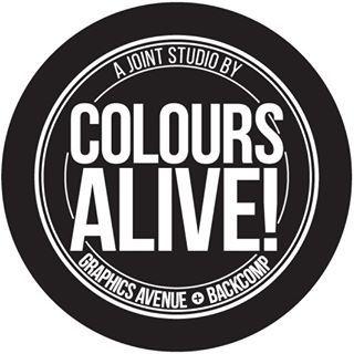 Colours Alive! print studio at Bras Basah Complex in Singapore.