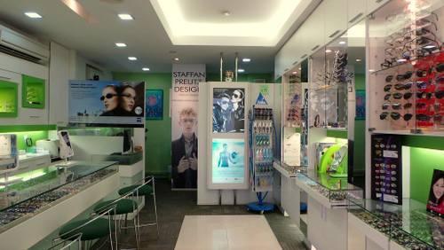 Designer Eyewear & Contact Lens Centre optical store in Singapore.