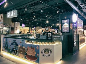 iCrepe shop at 313@Somerset mall in Singapore.
