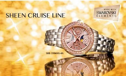 Seiko Sheen Cruise Line, available in Singapore.