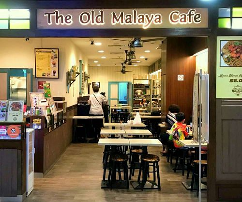 The Old Malaya Cafe at Tampines Mall in Singapore.