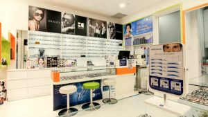 Trendy Eyes optical store in Singapore.