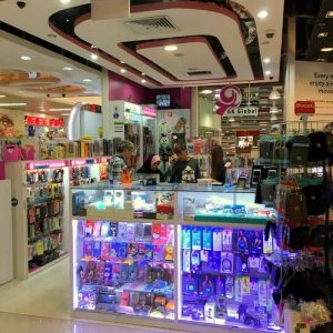 GK Global mobile accessories shop in Singapore.