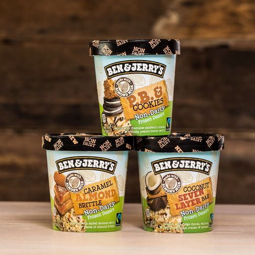 Ben & Jerry's ice cream, available in Singapore.