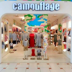 Camouflage children's clothing store Jurong Point mall Singapore