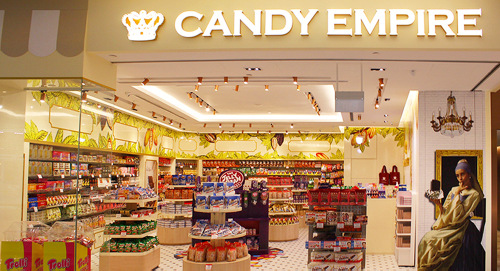 Candy Empire Jewel Changi Airport - Candy Shops in Singapore.