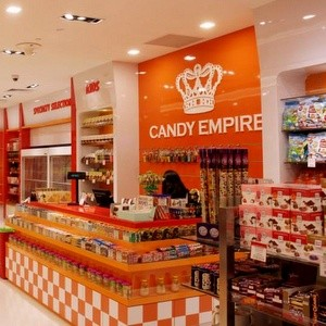 Candy Empire shop Kallang Wave Mall Singapore