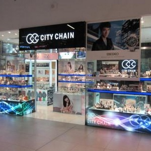 City Chain watch stores in Singapore - NEX shopping mall.