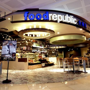 Food Republic 112 Katong shopping mall Singapore