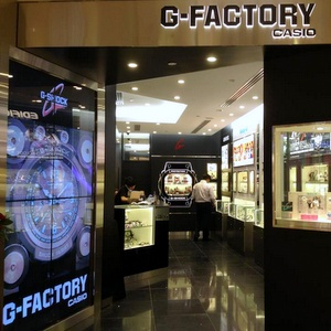 G-Factory watch store Ion Orchard Singapore