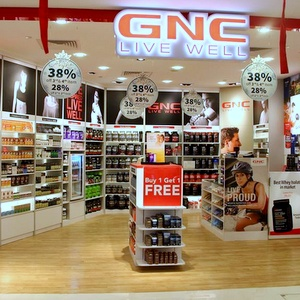GNC supplement shop One KM Mall Singapore