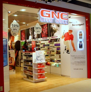 GNC Supplement Stores in Singapore - The Seletar Mall.