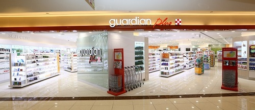 Guardian Pharmacy in Singapore - Guardian Plus Takashimaya Shopping Centre.
