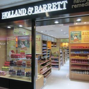 Holland & Barrett store Nex shopping mall Singapore