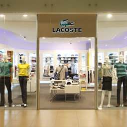 Lacoste clothing store Marina Square Singapore