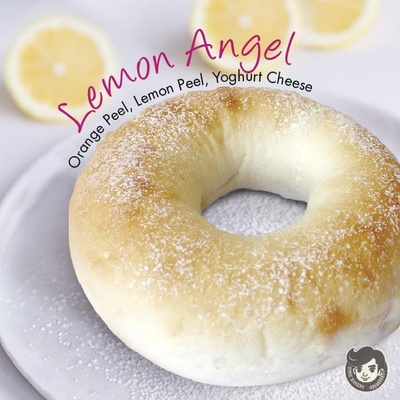 Duke Bakery Lemon Angel bread in Singapore.