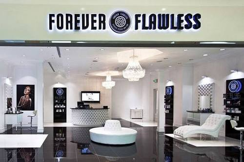Forever Flawless store in Singapore.