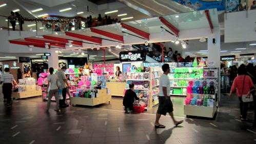 Smiggle stationery store at nex mall in Singapore.