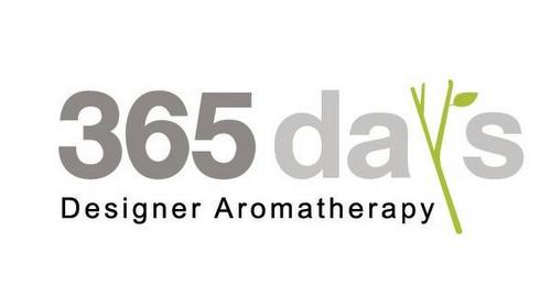 365 DAYS designer aromatherapy shop.