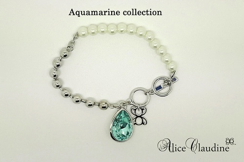 Alice Claudine Aquamarine Collection.