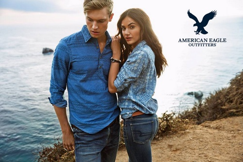 American Eagle Outfitters denimwear.