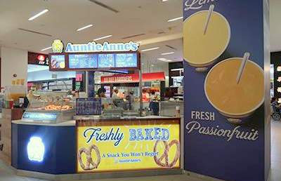 Auntie Anne's outlets Singapore - Shop at NEX Mall.