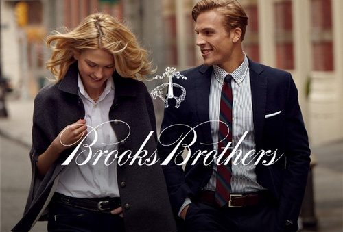 Brooks Brothers clothing.