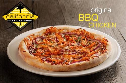 California Pizza Kitchen Original BBQ Chicken pizza.