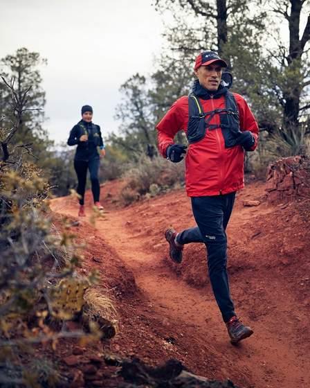 Columbia Sportswear trail running.