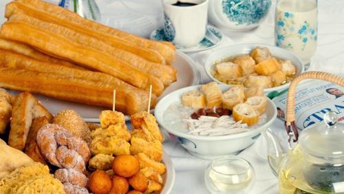 Dough Culture dough fritters and You Tiao snacks.
