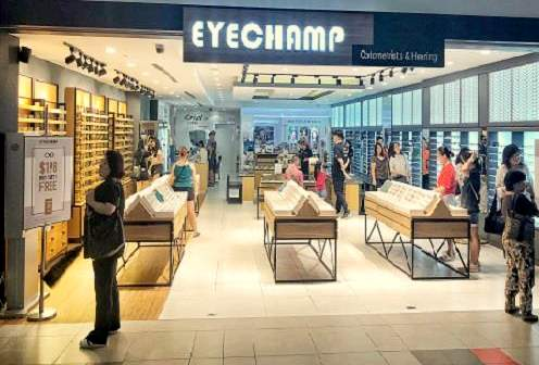 EyeChamp Optometrists Outlets in Singapore - NEX Mall.
