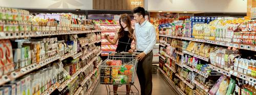 FairPrice Finest supermarket in Singapore.