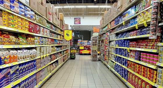 Giant hypermarket.